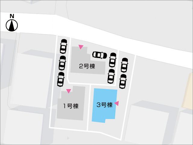 区画図北九州市小倉南区石田町|10帖のベッドルームに2帖の納戸!