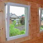 防犯性の高い内倒し窓です北九州市八幡西区平尾町【築後未入居】水色の可愛いログハウス