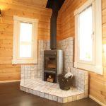 薪用暖炉付きです北九州市若松区塩屋【築後未入居】暖炉付きのデザイナーズログハウス