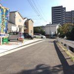 フラットで広めの道路です北九州市小倉南区湯川|全室洋室で2階には4部屋あり