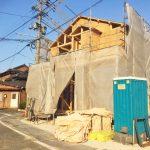 北九州市小倉北区菜園場|玄関スペースが広く収納可