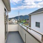 のどかな景色の広がる2階北九州市門司区吉志|全部屋からベランダへ出ることができます!