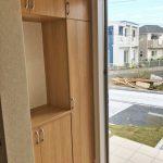 収納たっぷりなシューズボックス北九州市門司区吉志|収納に便利なクローゼット多数あります!