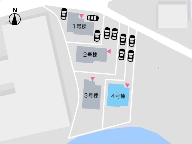 縦列駐車2~3台可能!川沿いの専用庭で周囲も気になりません!北九州市門司区吉志|6.5帖以上の広い洋室が3部屋!クローゼットあり!
