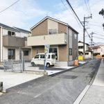 外観北九州市小倉南区朽網東|配置の考えやすい17帖以上の広いリビング!