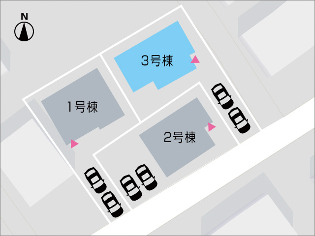 プライベートも守れる奥側の区画!北九州市小倉南区朽網東|配置の考えやすい17帖以上の広いリビング!