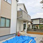 外観北九州市小倉南区中曽根東|収納に便利な2帖の納戸が2箇所あります