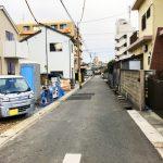 外観北九州市小倉南区若園|玄関からキッチンが近いママの味方!