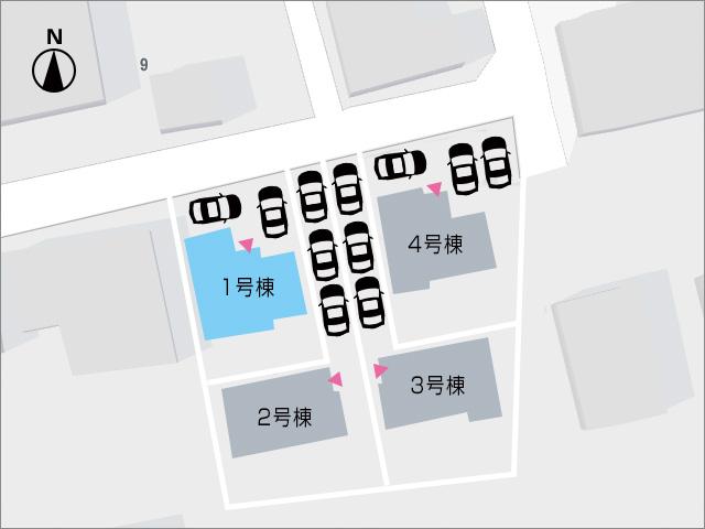 北九州市小倉南区中曽根|全部屋6帖以上で個室も広々!16帖リビング。