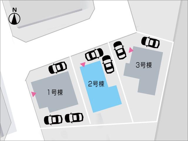 北九州市小倉南区徳吉西|8帖・9.5帖の洋室がありウォークインクローゼット共有!