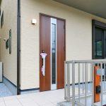 広い玄関ポーチ北九州市小倉北区須賀町|ウォークインクローゼットが多いお家です!