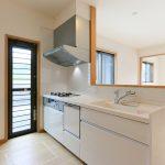 キッチンは食洗機付きです北九州市小倉北区須賀町|ウォークインクローゼットが多いお家です!
