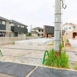 外観北九州市門司区吉志|家正面に並列2台駐車可能!専用庭有り