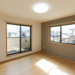 洋室北九州市小倉南区下貫|全室ウォークインクローゼット!収納たっぷりです