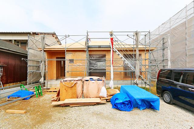 土地広々なんと200㎡以上!北九州市門司区大里本町|4LDKで1階のみ!珍しい平屋の新築物件です。
