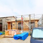 外観北九州市門司区大里本町|4LDKで1階のみ!珍しい平屋の新築物件です。