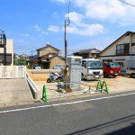 外観北九州市小倉北区篠崎|キッチンにパントリーあり!キッチン・リビング収納にゆとりができます。