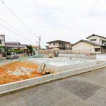 外観北九州市八幡西区鷹見台|人気の角地!三角地になっています。