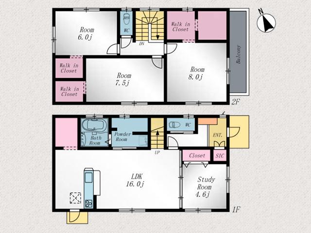 キッチン横にはパントリーがあり収納スペースに!北九州市戸畑区中原東|収納多数・各部屋広々!