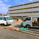 外観北九州市八幡西区折尾|収納スペース多数あり!シューズインクロークなどの玄関収納も