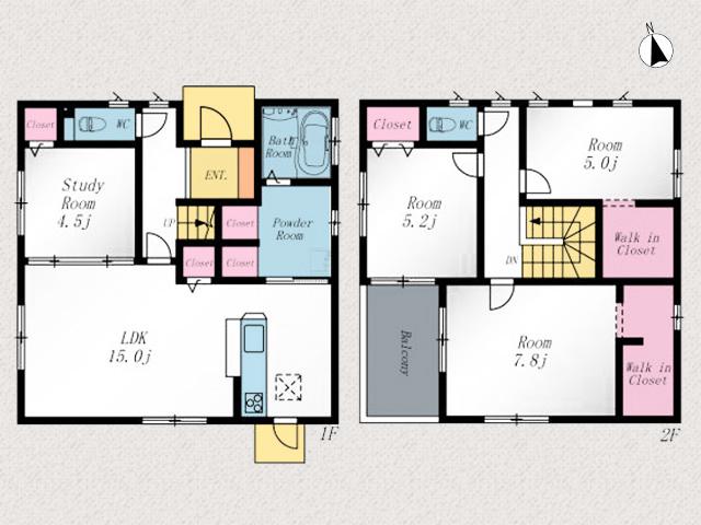 複数窓があり部屋まで日が差し込み日当り良好です!北九州市門司区下二十町|各所に収納があるので部屋を広く使えます