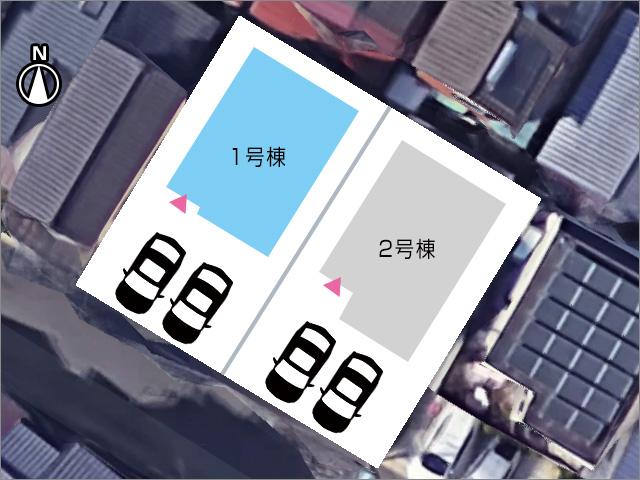 並列2台駐車可能です!北九州市小倉南区横代北町|6帖分の広い納戸があります!