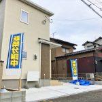 L字で2台分駐車が可能です北九州市小倉北区熊谷|玄関広いです!収納スペースもたっぷり!