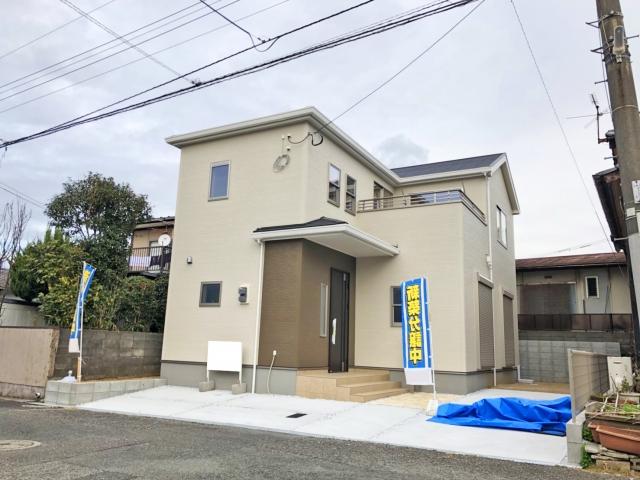 北九州市小倉北区熊谷第三1号棟新築物件(外観)広いベランダで日が差し込みやすく明るい部屋に