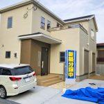 家の中が道沿いから見づらい配置に北九州市小倉北区熊谷|玄関広いです!収納スペースもたっぷり!