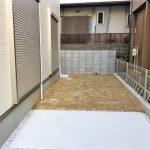 専用庭スペースも程よい広さ北九州市小倉北区熊谷|玄関広いです!収納スペースもたっぷり!