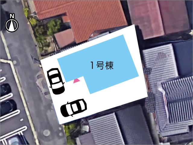 専用庭スペースも十分に確保!北九州市小倉北区熊谷|玄関広いです!収納スペースもたっぷり!