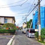 外観北九州市小倉北区熊谷 玄関広いです!収納スペースもたっぷり!