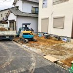 外観北九州市小倉北区篠崎|2階共有部から出入り可能なセンターバルコニー