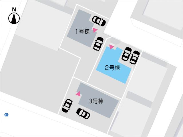 一本入った道で駐車場出入りもラクラクです!北九州市小倉南区北方|17帖以上の広い空間のリビングです