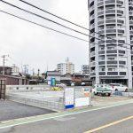 外観北九州市小倉南区城野|ベビーカーの収納に便利なシューズインクローク