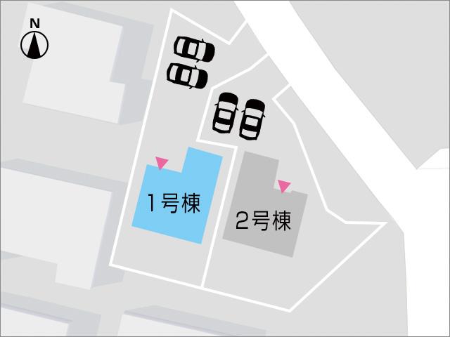 2台駐車可能!車種によっては複数台も?北九州市小倉北区霧ケ丘|湯川交差点近隣で各方面へのアクセスが便利です!