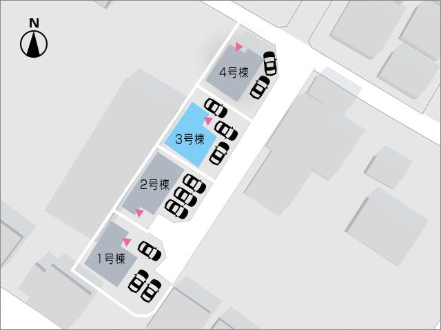 北九州市小倉南区中貫|各部屋6帖以上の広々とした間取りです