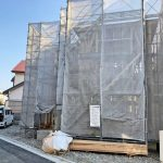外観北九州市小倉南区蜷田若園|約6帖分の広く大きいバルコニーです!