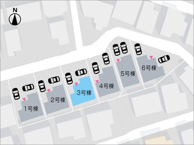 バルコニーへは廊下から出入り可能です!北九州市小倉南区蜷田若園|部屋も広くて収納も充実しています!
