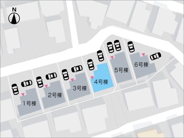 8帖寝室には2箇所クローゼットがついています。北九州市小倉南区蜷田若園| 広々とした玄関・玄関ポーチのスペースです!