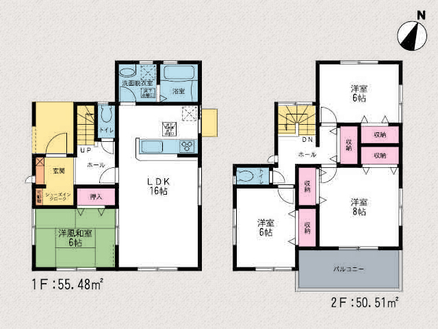 なんと希少!280㎡以上の広々とした土地です。北九州市小倉南区蜷田若園| 広々とした玄関・玄関ポーチのスペースです!