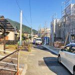 外観北九州市小倉南区蜷田若園| 広々とした玄関・玄関ポーチのスペースです!
