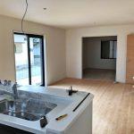 奥の部屋まで見わたせるキッチンです北九州市小倉北区皿山町 部屋も広く、収納もいっぱいで生活空間にゆとり有り!