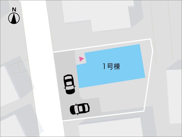駐車場と専用庭がきっちり別れています!北九州市小倉北区皿山町 部屋も広く、収納もいっぱいで生活空間にゆとり有り!