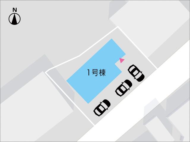 急な来客も安心な駐車場3台分!北九州市小倉南区朽網西|駐車場は3台以上!17帖リビングに広々個室
