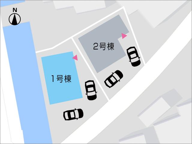 川沿いですが人気の角地物件です!北九州市小倉南区中曽根東|LDK18帖弱の広々空間!センターバルコニー