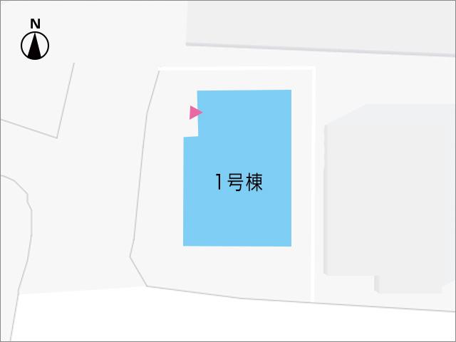駐車場2台分確保しております。北九州市小倉南区長尾|個室は全室6帖以上!納戸やWICもついております。