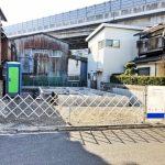 外観北九州市小倉北区貴船町|駐車場3台分でリビングは17帖あります