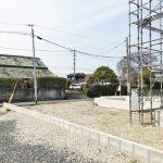 外観北九州市小倉南区中曽根|広々とした専用庭とバルコニーです!