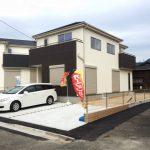 外観北九州市小倉北区上富野|車種によって3台駐車可能です!
